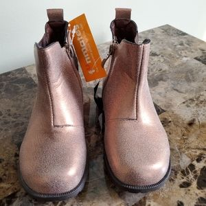 Woolworths Gold/Brown Girl Boots/ Size 8